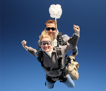 Tandem Skydive Gift Certificates