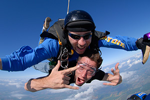 Tandem Skydiving in Pennridge